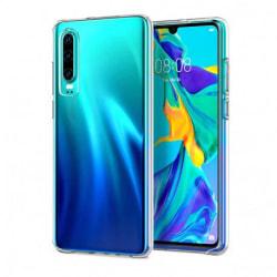 Huawei P30 Stötdämpande Skal med Repfri Plexiglas Glassback® Transparent