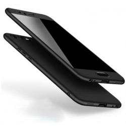 Huawei Y6 2018 360° 3in1 FullCover Skal + 0.26mm 9H Glas Svart