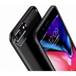 Huawei Y6 2018 Stöttåligt Skal FullCarbon® V4 Svart