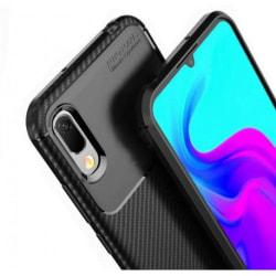 Huawei Y6s Stöttåligt Skal FullCarbon® V4 Svart