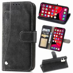 iPhone 11 Praktisk Plånboksfodral med 7-FACK Pharah® Svart