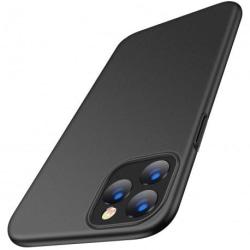 iPhone 11 Pro Max Ultratunn Gummibelagd Mattsvart Skal Basic® V2 Svart