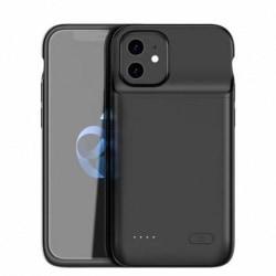 iPhone 12 Mini Exlusivt Stöttåligt Batteriskal Titan® V2 4700mAh Svart