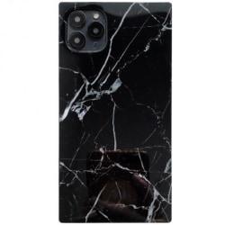 iPhone 12 Pro Max Stilrent Marmorskal Square Svart