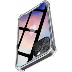 iPhone 12 Pro Max Stötdämpande Silikon Skal Shockr® Transparent