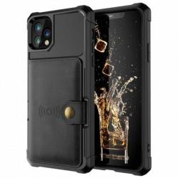iPhone 12 Pro Stöttåligt Premium Skal 4-FACK Solid® V3 Black