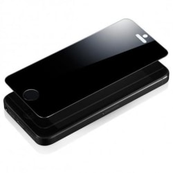 iPhone 5/5S/SE Privacy Härdat glas 0.26mm 2.5D 9H Transparent