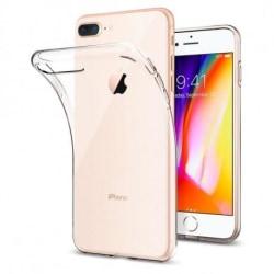 iPhone 7 Plus Stötdämpande Silikon Skal Simple® Transparent