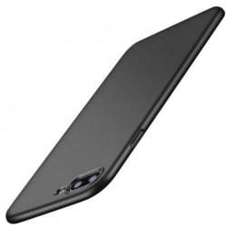 iPhone 7 Plus Ultratunn Gummibelagd Mattsvart Skal Basic® V2 Svart