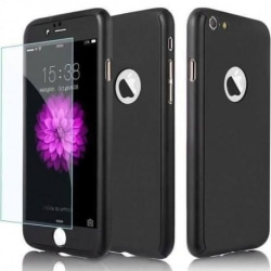 iPhone 8 Plus | 360° 3in1 FullCover Skal + 0.26mm 9H Glas Svart