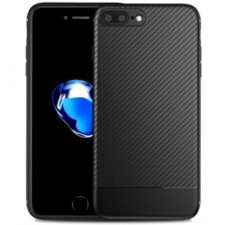 iPhone 8 Plus Stöttåligt Skal FullCarbon® Black