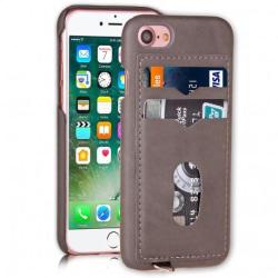iPhone 8 Ultratunn Stötdämpande Korthållare 2st Kort Agile® Svart