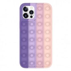 iPhone XR Skyddande Skal Fidget Toy Pop-It multifärg