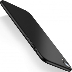 iPhone XR Ultratunn Gummibelagd Mattsvart Skal Basic® V2 Svart