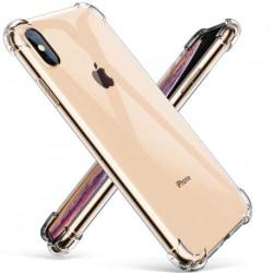 iPhone XS Max Stötdämpande Silikon Skal Shockr® Transparent
