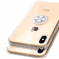iPhone XS Max Stöttåligt Skal med Ringhållare Fresh® Transparent