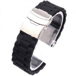 Klockarmband Silicon 16mm - 24mm