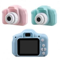 Kompakt Digital HD Kamera för Barn Blå