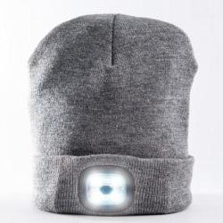 LED Mössa X-Cap® Svart