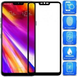 LG G7 ThinQ FullFrame® 0.26mm 3D 9H Härdat Glas Transparent