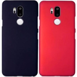 LG G7 ThinQ Ultratunn Gummibelagd Mattsvart Skal Svart