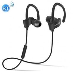 Magnetiskt Stereo Bluetooth Sportheadset Svart