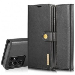 Mobilplånbok Magnetisk DG Ming Samsung S21 Ultra Svart