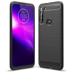 Motorola Moto G8 Power Stöttåligt Skal SlimCarbon® Svart