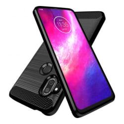 Motorola One Hyper Stöttåligt Skal SlimCarbon® Black