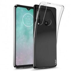 Motorola One Macro Stötdämpande Silikon Skal Simple® Transparent