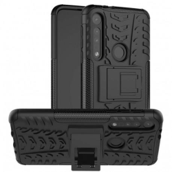 Motorola One Macro Stöttåligt Skal med Stöd Active® Black