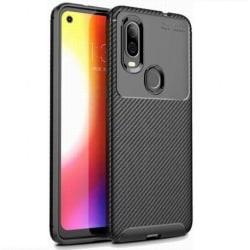 Motorola One Vision Stöttåligt Skal FullCarbon® V4 Black
