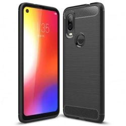 Motorola One Vision Stöttåligt Skal SlimCarbon® Black
