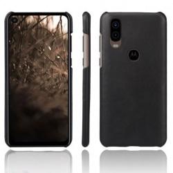 Motorola One Vision Ultratunt Vintage Skal Jazz® Black