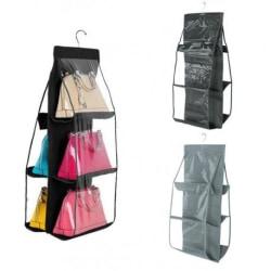 Multifunktionell Garderob Sorterare Väskor m.m Svart