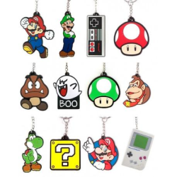Nintendo Nyckelringar Black Variant 10