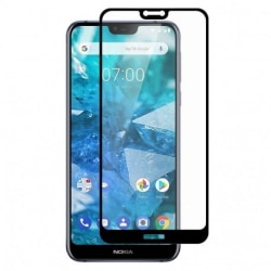 Nokia 7.1 FullFrame® 0.26mm 2.5D 9H Härdat Glas Transparent