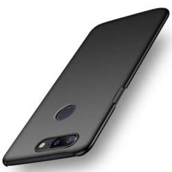 OnePlus 5T Ultratunn Gummibelagd Mattsvart Skal Basic® V2 Svart