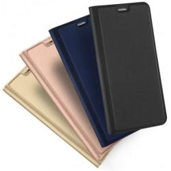 OnePlus 6T Flipfodral Smooth® Kortfack Svart
