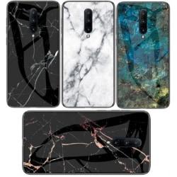 OnePlus 7 Pro Marmorskal 9H Härdat Glas Baksida Glassback® V2 Green Variant 3
