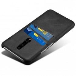 OnePlus 7 Pro Stötdämpande Korthållare Retro® V2 Svart