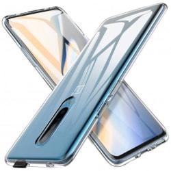 OnePlus 7 Pro Stötdämpande Silikon Skal Simple® Transparent