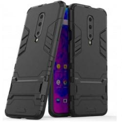 OnePlus 7 Pro Stöttåligt Skal med Kickstand ThinArmor® Svart