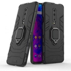 OnePlus 7 Pro Stöttåligt Skal med Ringhållare ThinArmor® Svart