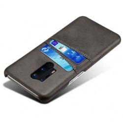 OnePlus 8 Pro Mobilskal Korthållare Retro® V2 Svart