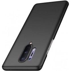 OnePlus 8 Pro Ultratunn Gummibelagd Mattsvart Skal Basic® V2 Svart
