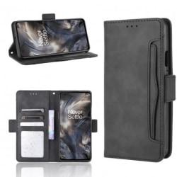 OnePlus Nord Plånboksfodral PU-Läder 6-FACK Winston® V3 Black