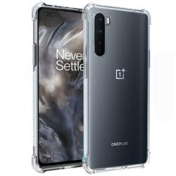 OnePlus Nord Stötdämpande Silikon Skal Shockr® Transparent