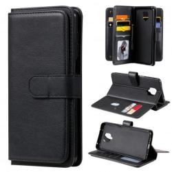Redmi Note 9S/9 Pro Praktisk Plånboksfodral med 11-Fack Array® V Black