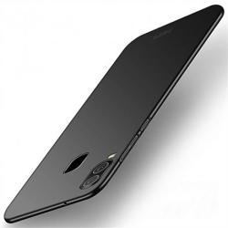 Samsung A20e Ultratunn Gummibelagd Mattsvart Skal Basic® V2 Svart